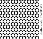 seamless background of black...   Shutterstock .eps vector #736380595