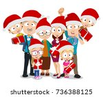 vector illustration of big... | Shutterstock .eps vector #736388125