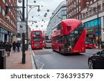 london city   december 23  2016 ... | Shutterstock . vector #736393579