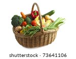 Basket Filled With Lots Of...