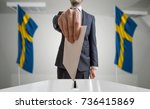 election or referendum in...   Shutterstock . vector #736415869
