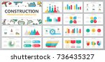 set of construction and repair... | Shutterstock .eps vector #736435327