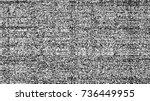glitch background. computer...   Shutterstock .eps vector #736449955