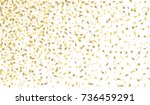 confetti isolated on white... | Shutterstock .eps vector #736459291