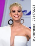 los angeles  ca   august 27 ...   Shutterstock . vector #736473235