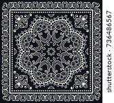 black and white background ... | Shutterstock .eps vector #736486567