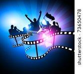 film festival design | Shutterstock .eps vector #73650478