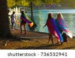 lake eola  florida   14 oct... | Shutterstock . vector #736532941