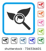 explore natural drugs icon.... | Shutterstock .eps vector #736536601