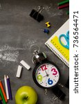 back to school concept with... | Shutterstock . vector #736564471