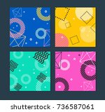 placard  poster or flyer...   Shutterstock .eps vector #736587061