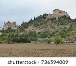 majorca   churches   picture... | Shutterstock . vector #736594009