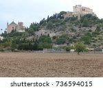 majorca   churches   picture... | Shutterstock . vector #736594015