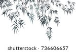 chinese traditional... | Shutterstock . vector #736606657
