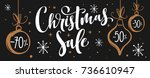 christmas sale. vector banner...