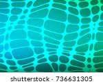 light blue  green vector... | Shutterstock .eps vector #736631305
