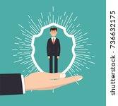 customer care  retention or...   Shutterstock .eps vector #736632175