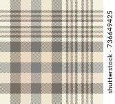seamless tartan plaid pattern...   Shutterstock .eps vector #736649425