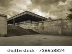 berlin  germany   may 30  2013  ... | Shutterstock . vector #736658824