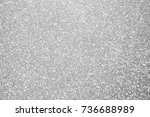 silver background abstract... | Shutterstock . vector #736688989