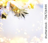 christmas and new year holiday...   Shutterstock . vector #736726444