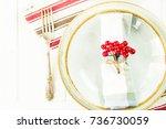 A Table Setting For Christmas...