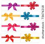 Big Set Of  Gift Bows With...