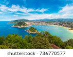 panoramic aerial view of san... | Shutterstock . vector #736770577