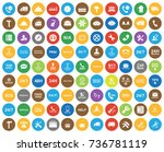 service icons | Shutterstock .eps vector #736781119
