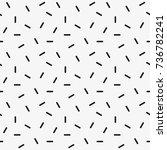 vector seamless pattern.... | Shutterstock .eps vector #736782241