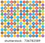 art icons | Shutterstock .eps vector #736782589