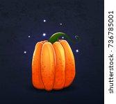 vector color illustration of... | Shutterstock .eps vector #736785001