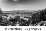 view from patos beach in nigran ... | Shutterstock . vector #736792801