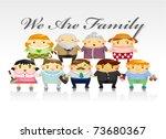 family card | Shutterstock .eps vector #73680367