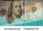 dollar currency exchange... | Shutterstock . vector #736804579