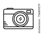 camera photo   Shutterstock .eps vector #736809379
