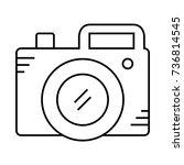 camera photo   Shutterstock .eps vector #736814545
