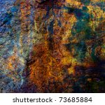 Abstract Dark Grunge Backgroun...