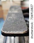 Metal Pattern Texture Closeup...