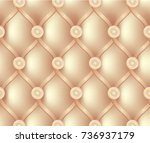 beige expensive sofa texture... | Shutterstock .eps vector #736937179