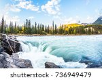 the full water bubbling... | Shutterstock . vector #736949479