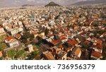 aerial birds eye view photo...   Shutterstock . vector #736956379