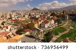 aerial birds eye view photo...   Shutterstock . vector #736956499