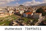 aerial birds eye view photo...   Shutterstock . vector #736956511