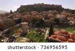 aerial birds eye view photo...   Shutterstock . vector #736956595