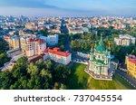 aerial view of saint andrew... | Shutterstock . vector #737045554