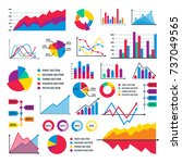 diagram chart graph elements... | Shutterstock .eps vector #737049565