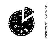 Pie Bakery Icon  Vector...
