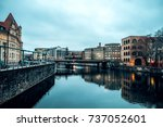 berlin  germany   january 23 ... | Shutterstock . vector #737052601