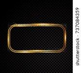 retro banner motel sign | Shutterstock .eps vector #737084359